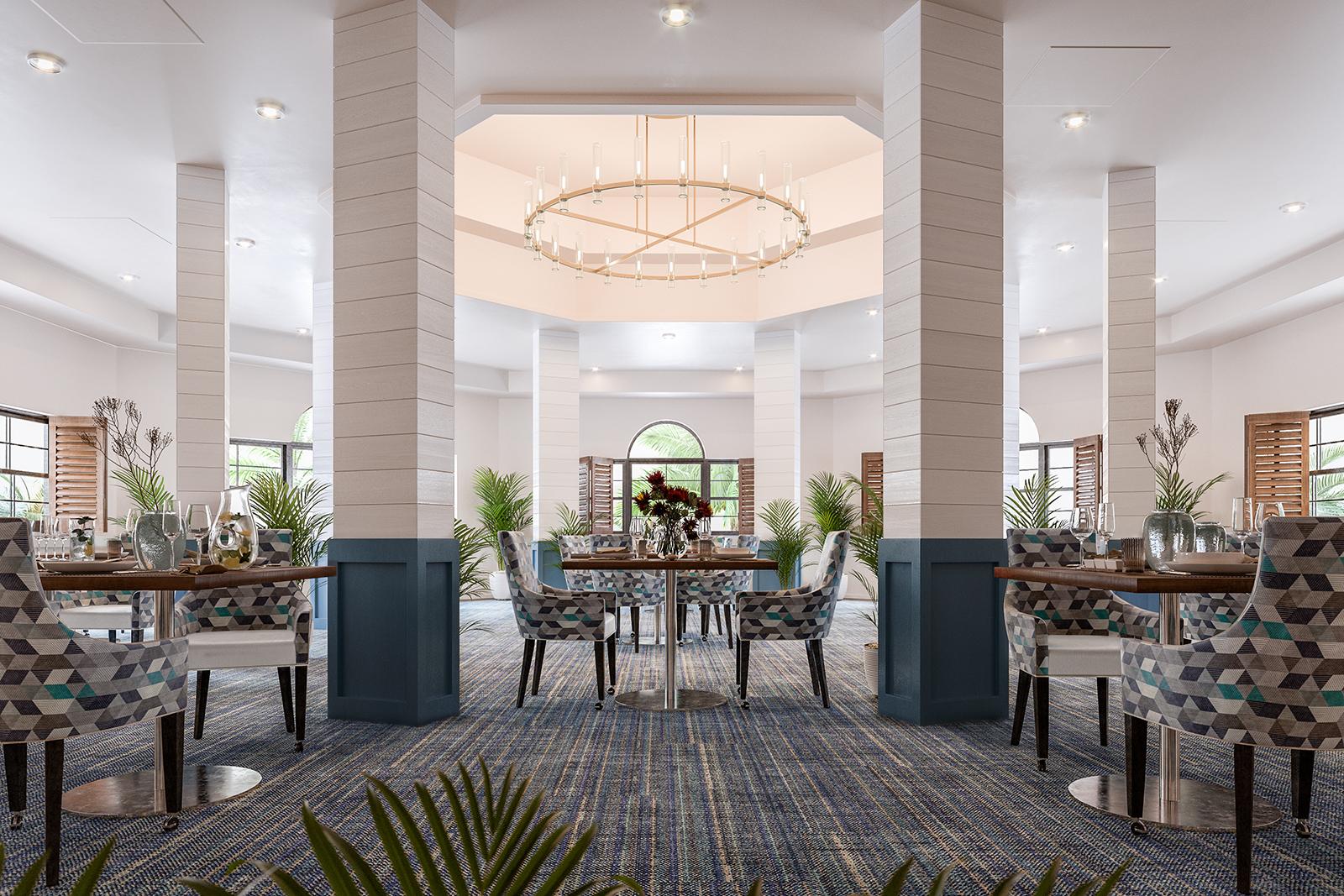 view of Unisen indoor dining space