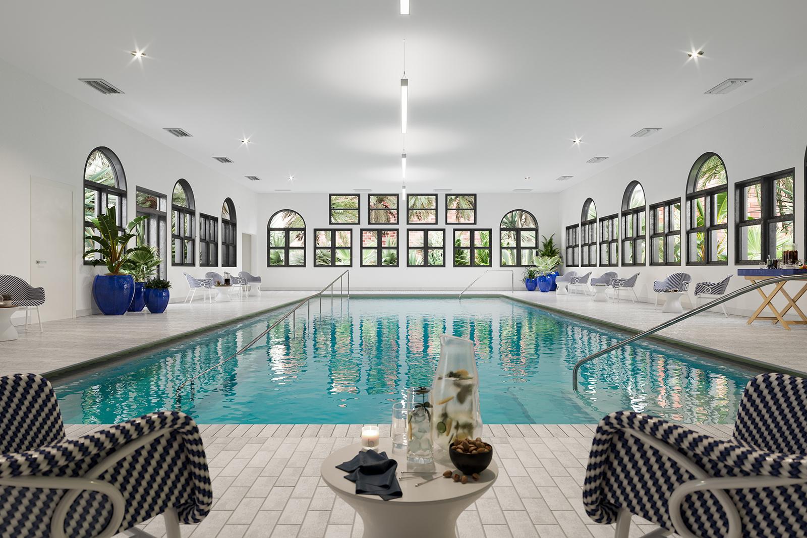 Unisen indoor swimming pool